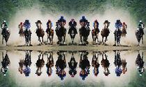 Horse racing in Pyatigorsk. by Mikhail  Pogosov