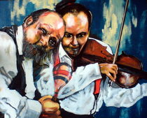 Muzykujacy duet. by fremal