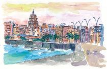 Träumen von einem Havanna-Kuba-Malecon-Abend von M.  Bleichner