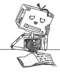 Schreibroboter von Mai-Kristin Linder