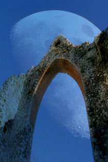 Moon and Arch by David Bishop