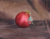 Still life with earring von olaartprints