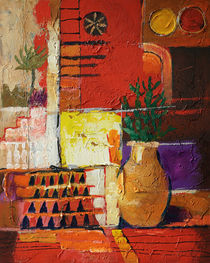 Aldea Rojo von arte-costa-blanca