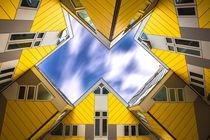 Kubushäuser in Rotterdam by Klaus Tetzner
