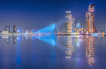 Rotterdam Skyline by Klaus Tetzner
