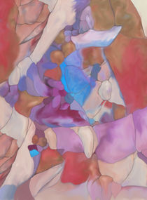 New Earth Abstract digital painted fantasy by Christina Rahm