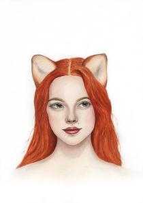 Foxy Lady von olaartprints
