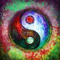 Yin Yang - Colorful Painting III by Dirk Czarnota