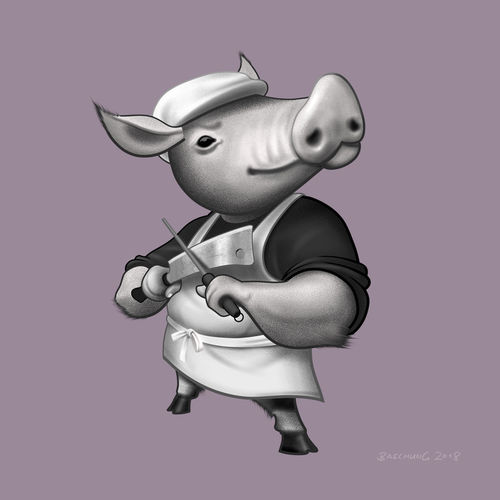 Pig-butcher-illustration
