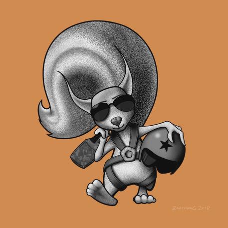 Squirrel-pilot-illustration