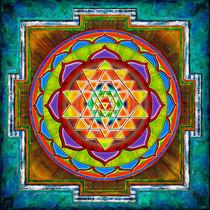 Intuition Sri Yantra II by Dirk Czarnota