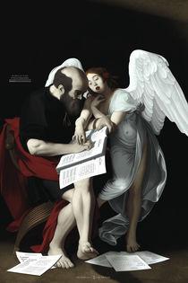 San Matteo e l'Angelo della Tipografia by ex-voto