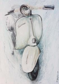 'Vespa weiß' by Renate Berghaus
