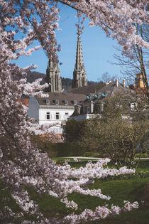 Baden-Baden im Frühling von Iryna Mathes
