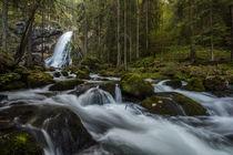 Gollinger Wasserfall von Dennis Heidrich