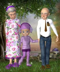 Oma und Opa sind die Besten von Conny Dambach