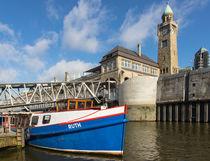 Landungsbrücken Hafen Hamburg II von gini-art