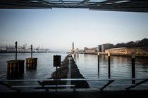 Hamburg Elbe von gini-art