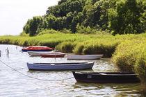 'Boote vor dem Hafen der Insel Poel.' von fischbeck