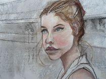 Frauenportrait von Gregor Wiggert