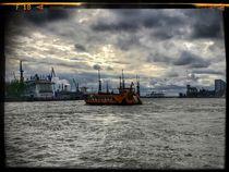 Hamburg Hafen 3 von Stefan Wehmeyer