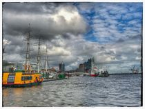 Hamburg Hafen 2 by Stefan Wehmeyer