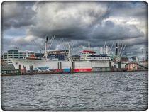 Hamburg Hafen 1 von Stefan Wehmeyer