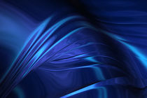 Dark Blue Abstraction by cinema4design