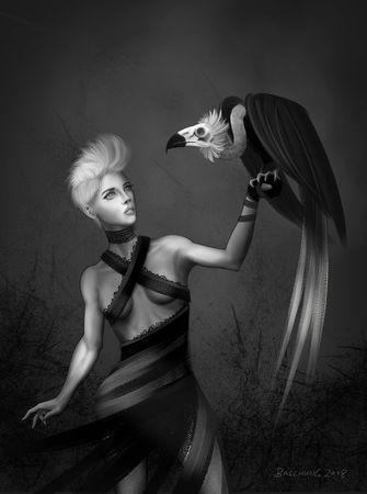 Eagle-huntress-a4-print