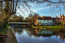 Kennet and Avon Canal At Sulhamstead by Ian Lewis