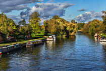The River Thames at Wallingford by Ian Lewis