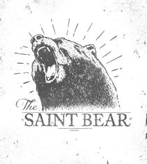 Saint Bear by Mike Koubou