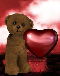 Kleiner Bär mit Großem Herzen by Conny Dambach