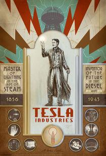 Nikola Tesla von Paul Martinez