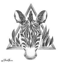 Zebra von Natalja Andreyeva