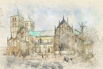 Münster - St.-Paulus-Dom und Marktplatz by Münster Foto