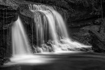 Herbstlicher Wasserfall by Hans Werner Partes