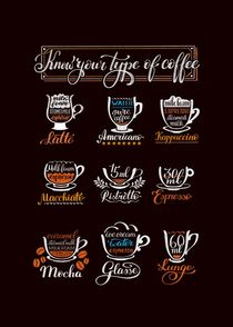 Know your type of coffee by Natalja Andreyeva
