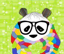 Hipster Panda von eloiseart
