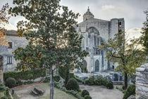The Backyard of Girona Cathedral (Catalonia) von Marc Garrido Clotet