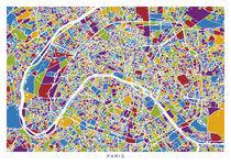 Paris map von Print Point