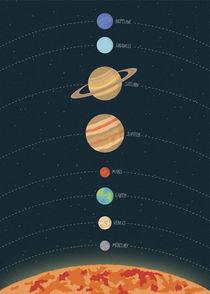 Solar System von Print Point