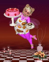 Die Pummelfee bringt Kaffee und Kuchen von Conny Dambach