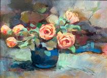Hintergrund mit Blumen by alfons niex
