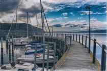 Steg im Jachthafen Bodman-Ludwigshafen by Christine Horn