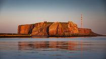 Roter Felsen Helgoland von Ulla Moswald