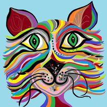 One Grinning Cat von eloiseart