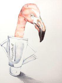 Flamingo dance by Chiara Sarto
