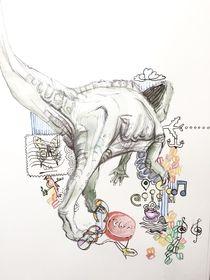 dinosaur walk by Chiara Sarto