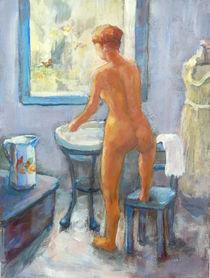 Rückenakt die Toilette von alfons niex